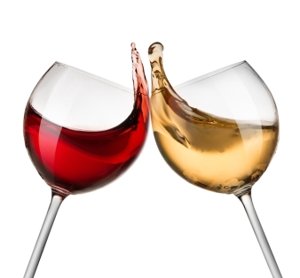 white-and-red-wine-glasses